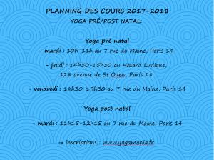 planning YPPN 2017-2018